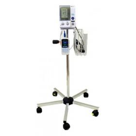 Blodtrycksmätare Omron 907 med golvstativ och pulsoximeter