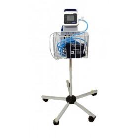 Blodtrycksmätare Omron HBP-1300 med golvstativ och pulsoximeter