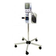 Blodtrycksmätare Omron 907 med TriCUFF®, golvstativ och pulsoximeter