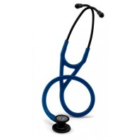 Stetoskop Littmann Cardiology IV, studentpris-Svart finish/Marin slang