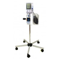 Omron 907 with TriCUFF®, stand on wheels and Pulse Oximeter