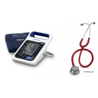 Blood Pressure Monitor Omron HBP-1300 with Littmann Classic III Stethoscope